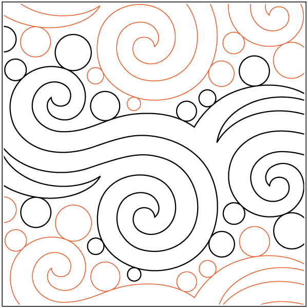 quilting templates free online - super simple pantograph pattern pack 24 paper patterns